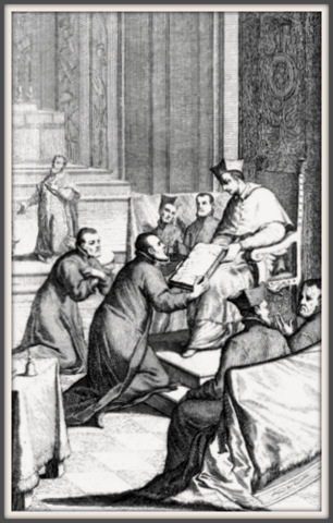 The approval of the Order of the Clerics Regular of St. Paul, known as Barnabites (1533) and of its Constitutions (1579), promulgated in the presence of St. Charles Borromeo.